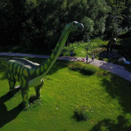 Dino Park in Radailiai, Klaipeda, Lithuania