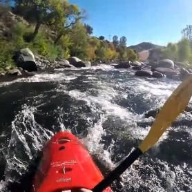 Kayaking on the Kern River