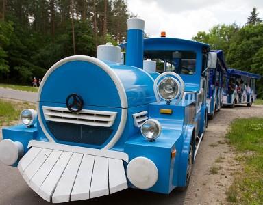 Traukinukas in Anykščiai