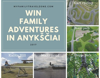 WIN family adventures in Anykščiai and promote your city!