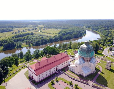 Cruise along the river Nemunas to a historical Liskiava village