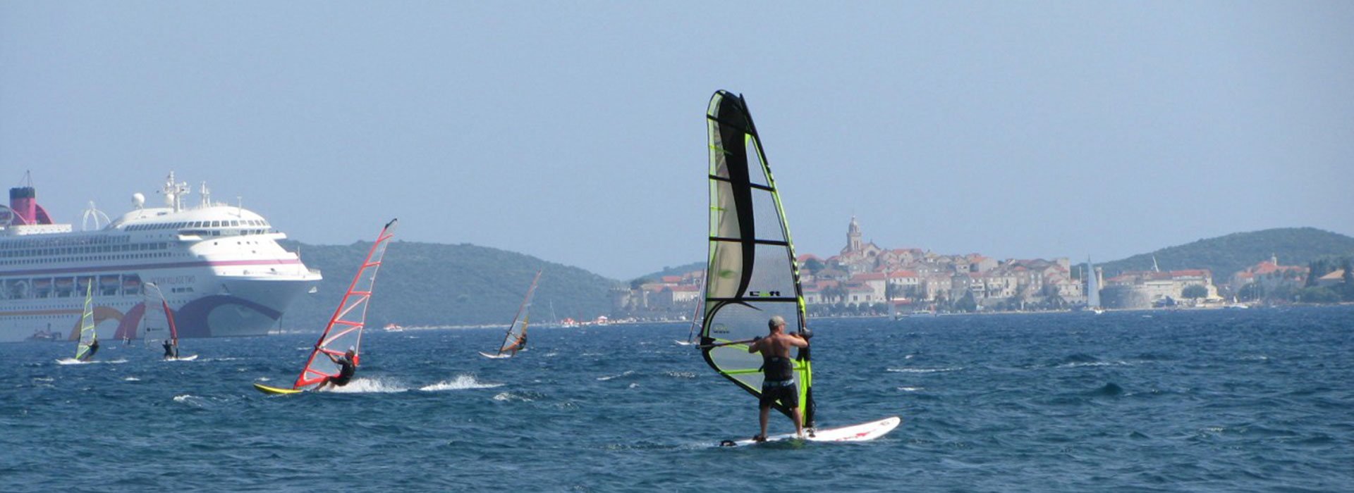 Windsurfing in Croatia