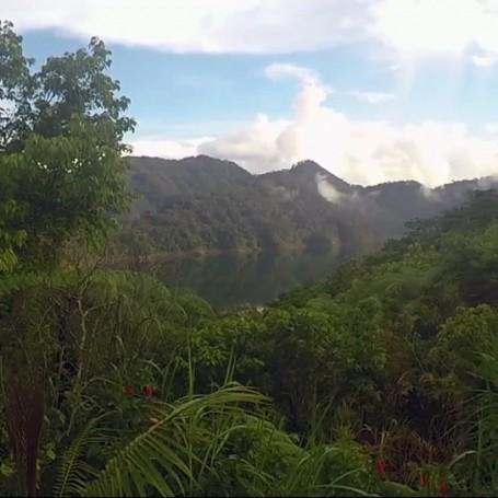 Twin Lakes of Balinsasayao, Negros Island