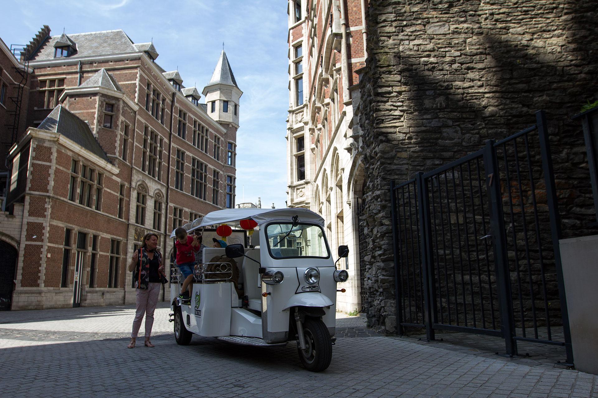 Antwerp Tuktuk