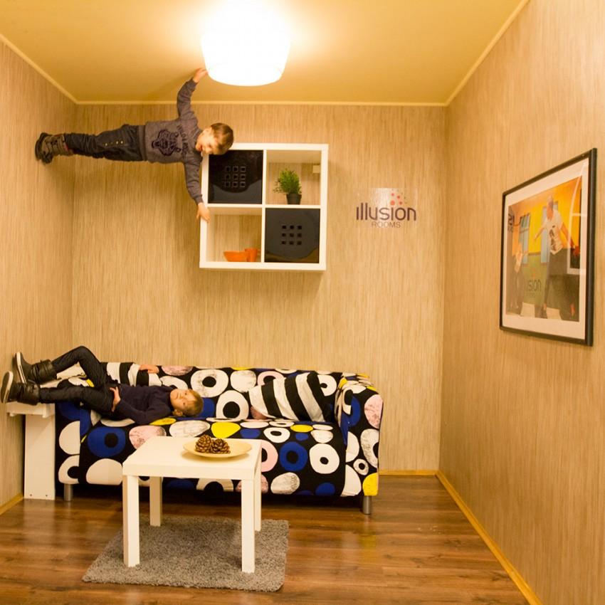 Illusions rooms Vilnius
