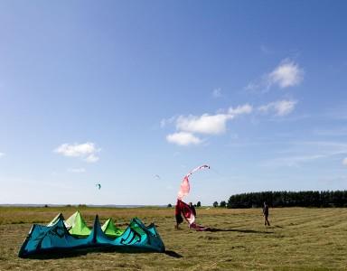 Kitesurfing lesson in Švencelė, Lithuania