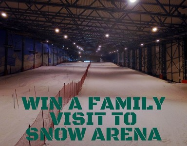 Win 4 hours of skiing for all family in Snow Arena!